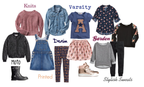 Girls Fall Back to School Fashion Trends