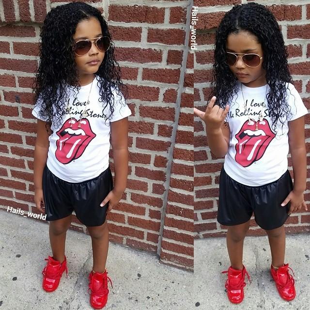 Kid Style Icon Hail S World Totspotlight