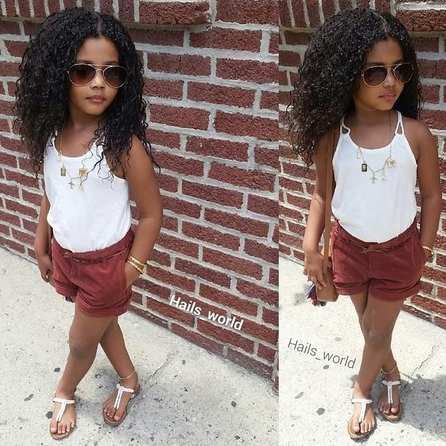 Kid Style Icon: Hail's World | TOTSPOTLIGHT
