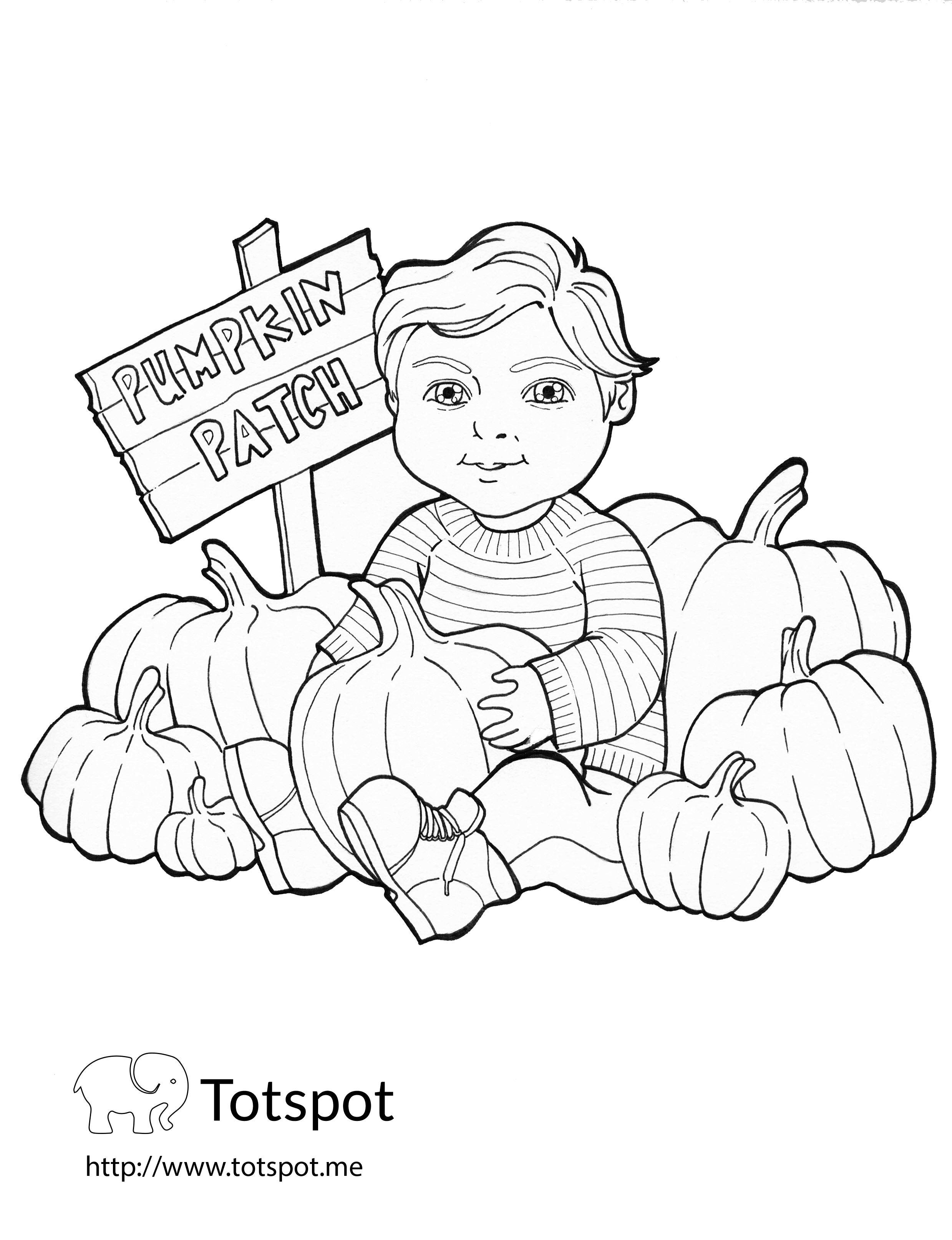 DIY Coloring Pages for our Little