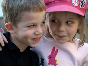 photo of twins