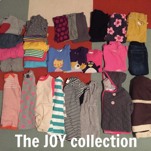 Konmari for your kids' closet